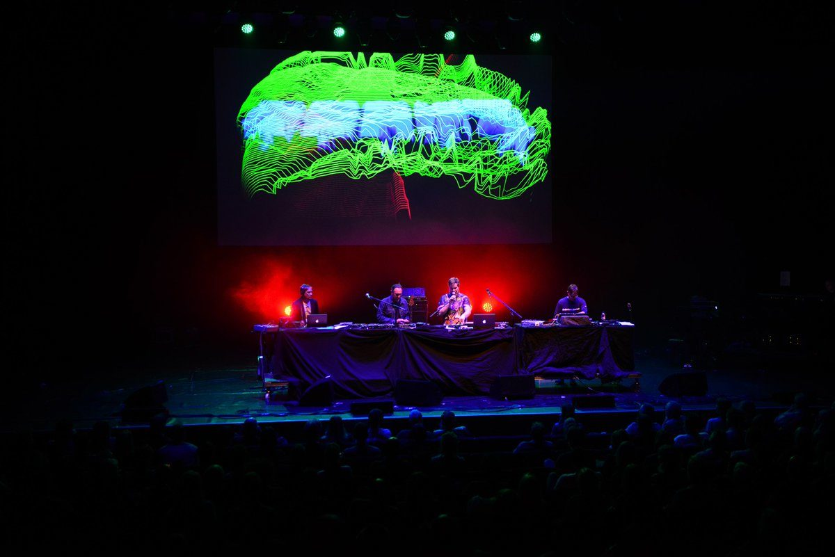 Wrangler with John Grant at the Barbican, London